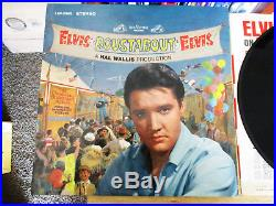 RARE Silver Stereo Label Elvis Presley Roustabout OCTOBER 1964 ONLY LSP-2999