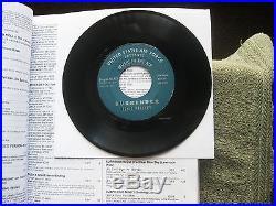 RARE U. S. AIR FORCE promo Elvis Presley/Lawrence Welk SURRENDER Program Nr 159
