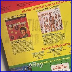 RAREST Elvis Presley LP Elvis' Gold Records Vol. 4 PROMO MONO Indianapolis RCA