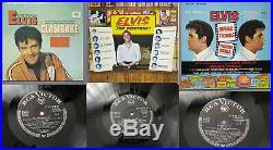 RCA LPM LSP Elvis Presley LP Sammlung, Living Stereo, Pot Luck, Elvis Is Back