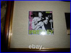 RIAA Gold Award Elvis Presley (His First Album) Awarded To Elvis Presley