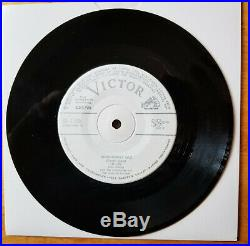 RIDICULOUSLY RARE Elvis Presley Japan WL PROMO INDESCRIBABLY BLUE SS-1729/1734