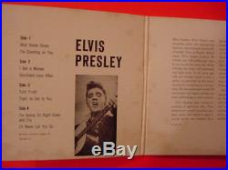 Rare, 1956, Elvis Presley Double Ep & Pic Slv, # Epb-1254, M-/m- Cond