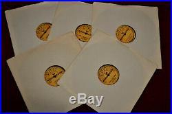 Rare 5 x ELVIS PRESLEY Vinyl 78rpm USA Records All 5 SUN releases 70s reissues