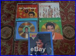 Rare Collection of ELVIS PRESLEY'S box sets (total of 52 LP vinyl records)