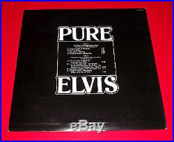 Rare ELVIS PRESLEY PURE ELVIS org 1979 RCA DJL1-3455 unplayed NM WLP DJ PROMO