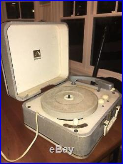Rare Elvis Presley Autographed Record Player from 1956