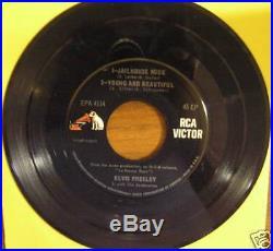 Rare, Elvis Presley Epa-4114, Jailhouse Rock, Dos, Exc