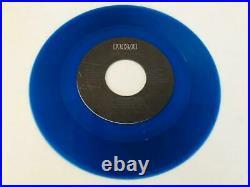 Rare Elvis Presley Moody Blue Blue Vinyl Promo signed by Joe Esposito