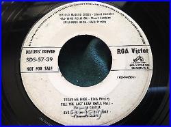 Rare Elvis Presley RCA Dealers Prevue EP 45 +Eddie Fisher Perry Como 57-39