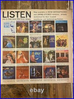 Rare LP Elvis Presley Self Titled RCA Victor LPM-1254 1st Pressing Vtg 1956