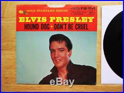 Rare! MINT GSS Elvis Presley Hound Dog 447-0608 with Near Mint P/S