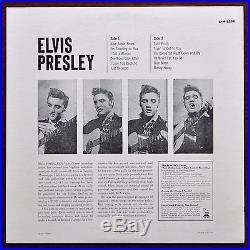 Rare Original First Press Elvis Presley RCA Victor LPM-1254 USA 1956