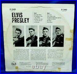Rare Original South Africa Rock LP Elvis Presley Elvis Presley RCA