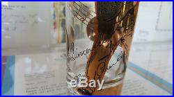 Rare orig. Elvis Presley EPE 1956 Gold Record Glass (NOT 1988 Reproduction)