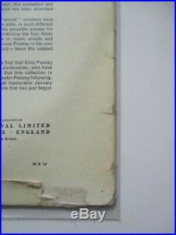Rarete 33 T Sixties Elvis Presley N° 2 Premier Pressage Uk