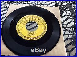 Rockabilly 45 Elvis Presley SUN 223 Mystery Train Mint- Copy