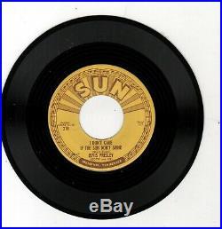 Rockabilly-elvis Presley-good Rockin' Tonight/i Don't Care If The Sun Don't Shin
