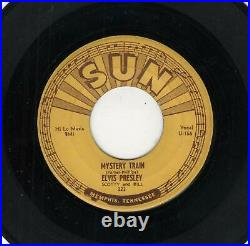Rockabilly-elvis Presley-mystery Train/i Forgot To Remember To Forget-sun 223
