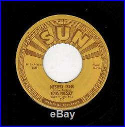 Rockabilly-elvis Presley-sun 223-mystery Train/i Forgot To Remember To Forget