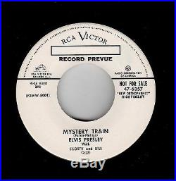 Rockabilly-promo! -elvis Presley-rca-mystery Train/i Forgot To Remember To Forget