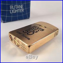SCARCE Elvis Presley Big 50 Zaima Butane Lighter RCA Records The Colonel 1969
