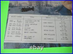 SEALED ELVIS PRESLEY CHRISTMAS ALBUM LPM 1951 MONO SUPER RARE With PRICE LIST SLIP