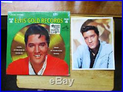 SEALED Elvis Presley Elvis' Gold Records Volume 4 with rare photo LSP-3921