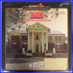 SEALED! Elvis Recorded Live On Stage In Memphis QUAD vinyl LP quadraphonic