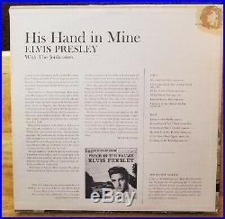SEALED ORIGINAL 1960 PROMO Elvis Presley HIS HAND IN MINE LPM-2328