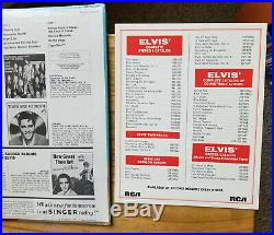 SEALED SINGER PRESENTS FLAMING STAR & OTHERS Elvis Presley PRS-279 & PHOTO