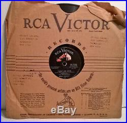 SIX DIFFERENT ELVIS PRESLEY RCA Victor 78RPM shellac 10 singles LOOK