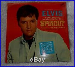 STILL SEALED ORIGINAL Elvis Presley SPINOUT with PHOTO LPM-3702