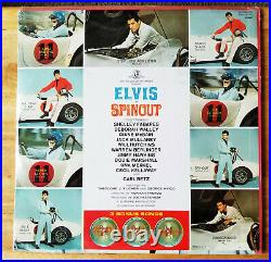 STILL SEALED STEREO Elvis Presley SPINOUT SHRINK, HYPE, PHOTO LSP-3702 1966