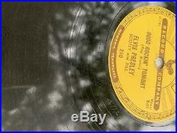 SUN 209 210 215 Elvis Presley 78 Rpm Lot
