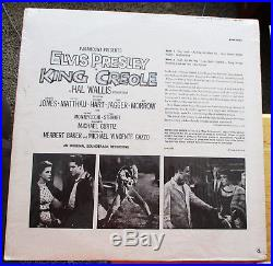SUPER WOW! 99% MINT LPM-1884(Shrink) Elvis Presley KING CREOLE with PHOTO