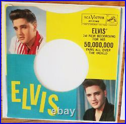 SUPER WOW! 99% MINT PACKAGE Elvis Presley STUCK ON YOU 47-7740