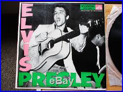 SUPER WOW! Elvis Presley Elvis Presley LPM-1254 9s / 9s THIS IS A KEEPER