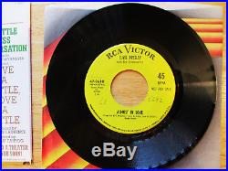 SUPER WOW! MINT COVER included Elvis Presley A LITTLE LESS CONVERSATION47-9610