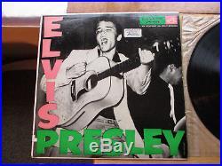 SUPER WOW! MINT DISC Elvis Presley Elvis Presley LPM-1254 7s / 8s
