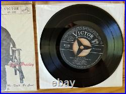 SUPER WOW! MINT JAPAN Elvis Presley LOVE ME TENDER EP-1198 1956 POLWRAP