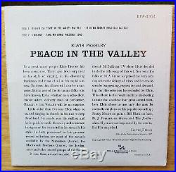 SUPER WOW! MINT TIGHTLY SEALED Elvis Presley PEACE IN THE VALLEY EPA-4054