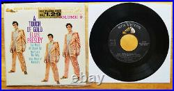 SUPER WOW! Original IN BAGGY Elvis Presley A TOUCH OF GOLD VOLUME 3 EPA-5141