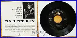 SUPER WOW! PERFECT! 100% MINT PKG. 1956 Elvis Presley ELVIS PRESLEY EPA-747