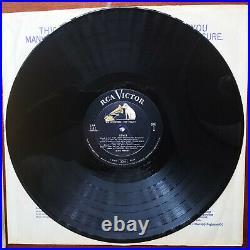 SUPER WOW! RARE BAND 1-6 LABEL Elvis Presley ELVIS LPM-1382 with ADS BACK