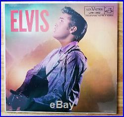 SUPER WOW! SEALED ADS ON BACK Elvis Presley ELVIS LPM-1382 TIGHT SHRINK MINT