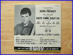 SUPER WOW! SEALED MINT EPA-4387 Elvis Presley EASY COME, EASY GO