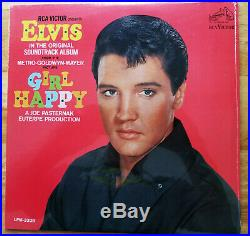 SUPER WOW! STILL SEALED 100% MINT ORIGINAL Elvis Presley GIRL HAPPY LPM-3338