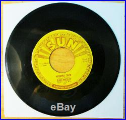 SUPER WOW! SUN LABEL Elvis Presley MYSTERY TRAIN 223 VG to VG+ NICE LABELS