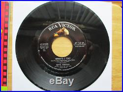 SUPER WOW! TRUE NEAR MINT ASK FOR Elvis Presley Viva Las Vegas 47-8360 P/S